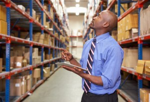 Businessman In Warehouse- Maryland
