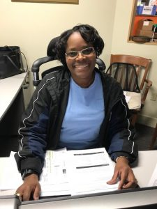 Lorraine Fowlkes at Cannon Hill Logistics